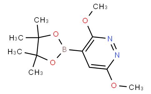 3,6-Dimethoxylpyridazine-4-boronic acid pinacol ester