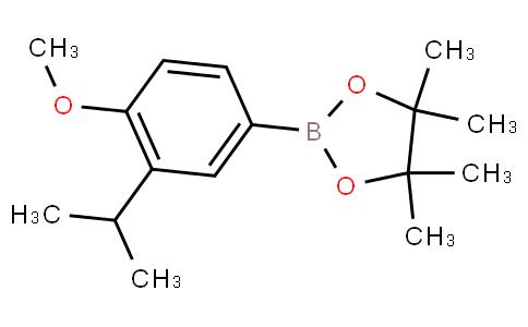 4-Methoxy-3-(1-methylethyl)phenylboronic acid pinacol ester