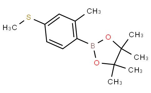 2-Methyl-4-methylthiophenylboronic acid pinacol ester