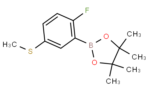 2-Fluoro-5-(methylthio)phenylboronic acid pinacol ester