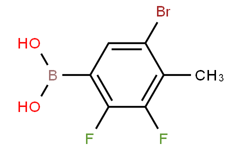 5-Bromo-2,3-difluoro-4-methylphenylboronic acid