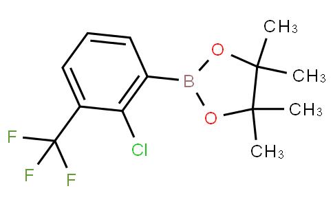 2-Chloro-3-(trifluoromethyl)phenylboronic acid pinacol ester