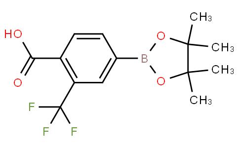 4-Carboxy-3-(trifluoromethyl)phenylboronic acid pinacol ester