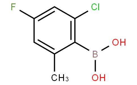 2-Chloro-4-fluoro-6-methylphenylboronic acid