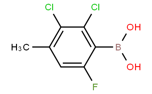 2,3-Dichloro-6-fluoro-4-methylphenylboronic acid