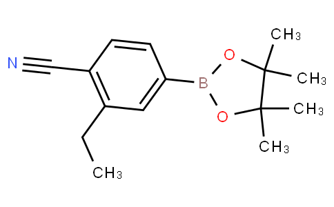 4-Cyano-3-ethylphenylboronic acid pinacol ester