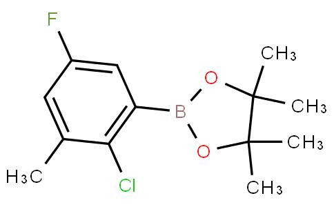 2-Chloro-5-fluoro-3-methylphenylboronic acid pinacol ester