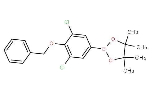4-Benzyloxy-3,5-dichlorophenylboronic acid pinacol ester