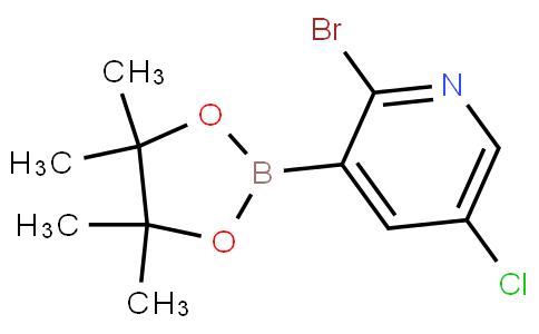 2-Bromo-5-chloropyridine-3-boronic acid pinacol ester