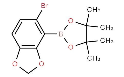 5-Bromobenzo[1,3]dioxole-4-boronic acid pinacol ester
