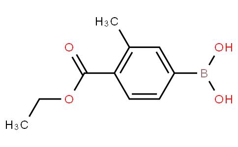 3-Methyl-4-(ethoxycarbonyl)phenylboronic acid