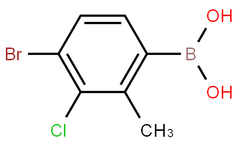 4-Bromo-3-chloro-2-methylphenylboronic acid