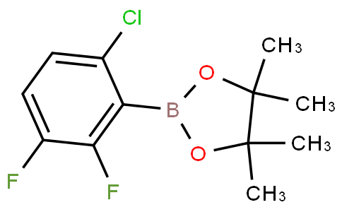 2,3-Difluoro-6-chlorophenylboronic acid pinacol ester