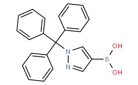 (1-Trityl-1H-pyrazol-4-yl)boronic acid