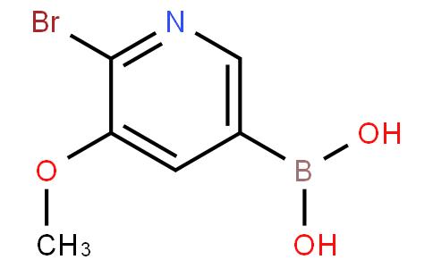 2-Bromo-3-methoxypyridine-5-boronic acid