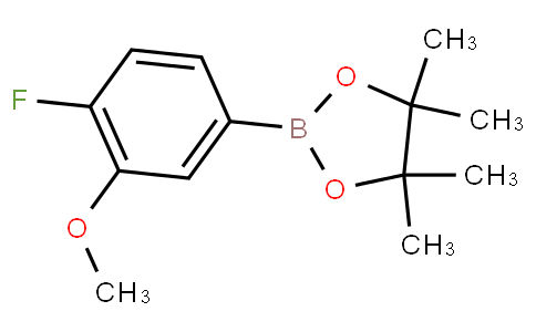 4-Fluoro-3-methoxyphenylboronic acid pinacol ester