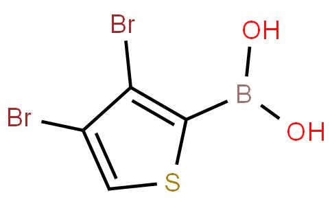 3,4-Dibromothiophene-2-boronic acid