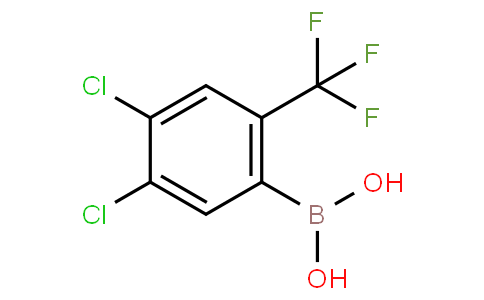 4,5-Dichloro-2-(trifluoromethyl)phenylboronic acid