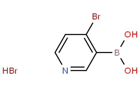 4-Bromopyridine-3-boronic acid HBr