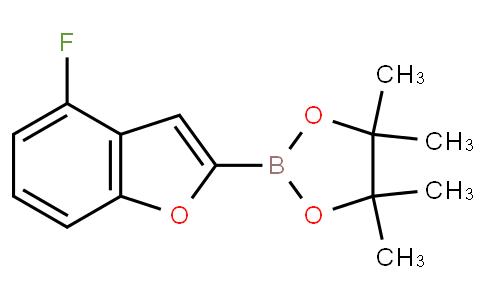 (4-Fluorobenzofuran-2-yl)boronic acid pinacol ester