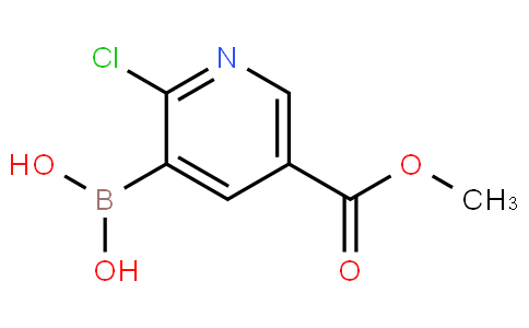 (2-Chloro-5-(methoxycarbonyl)pyridin-3-yl)boronic acid