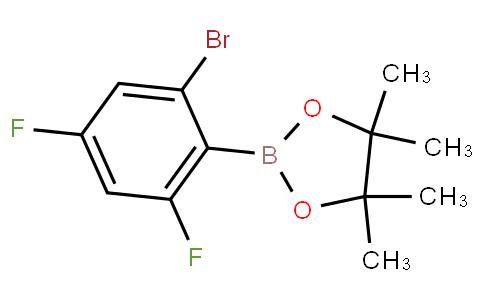 2,4-Difluoro-6-bromophenylboronic acid pinacol ester