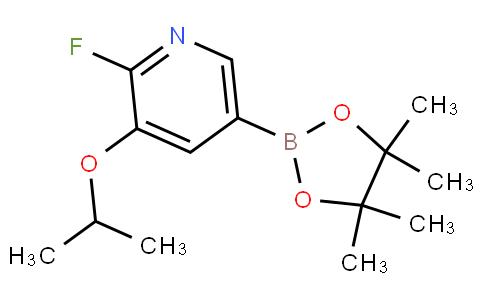 2-Fluoro-3-isopropoxypyridine-5-boronic acid pinacol ester