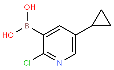 2-Chloro-5-cyclopropylpyridine-3-boronic acid