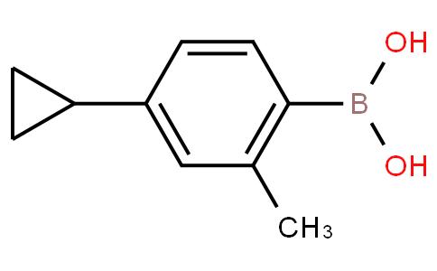 4-Cyclopropyl-2-methylphenylboronic acid