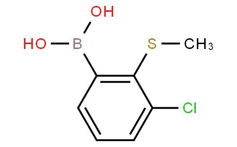 3-Chloro-2-(methylsulfanyl)phenylboronic acid