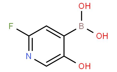 2-Fluoro-5-hydroxypyridine-4-boronic acid