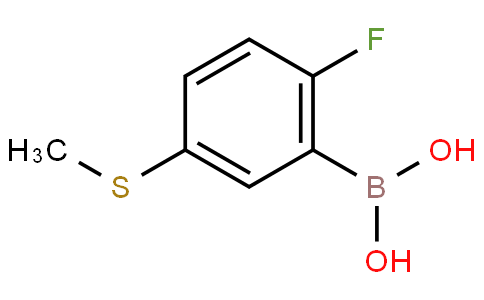 2-Fluoro-5-(methylthio)phenylboronic acid
