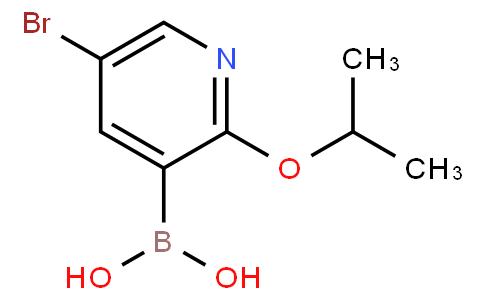 5-Bromo-2-isopropoxypyridine-3-boronic acid
