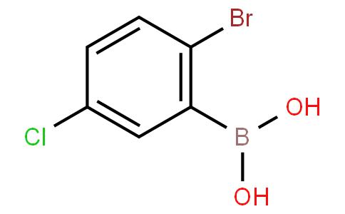 2-Bromo-5-chlorophenylboronic acid