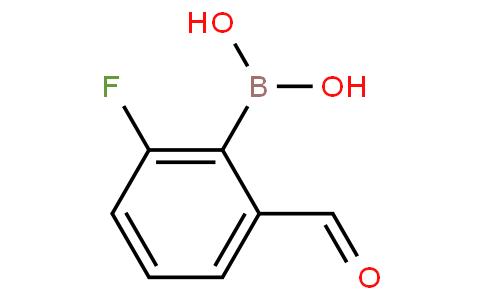 2-Fluoro-6-formylphenylboronic acid
