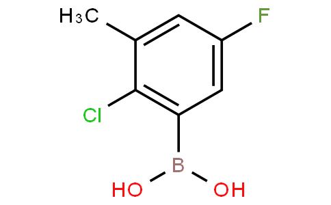 2-Chloro-5-fluoro-3-methylphenylboronic acid
