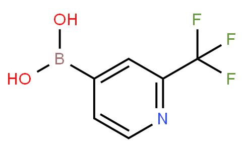 2-(三氟甲基吡啶)-4-硼酸