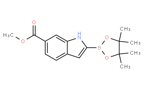 6-Methoxycarbonylindole-2-boronic acid pinacol ester