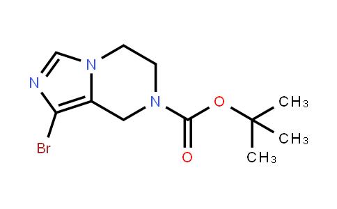 1-溴-5,6-二氢咪唑并[1,5-a]吡嗪-7(8h)-羧酸叔丁酯