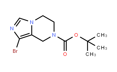 Tert-butyl 1-bromo-5,6-dihydroimidazo[1,5-a]pyrazine-7(8h)-carboxylate