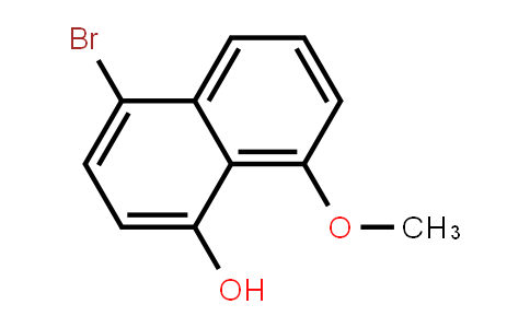 4-Bromo-8-methoxynaphthalen-1-ol