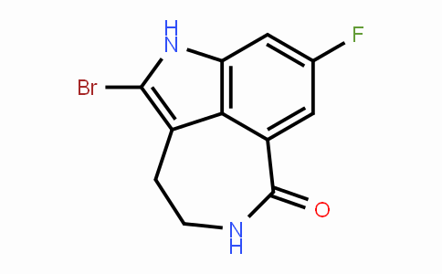 2-Bromo-8-fluoro-4,5-dihydro-1h-azepino[5,4,3-cd]indol-6(3h)-one