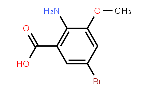 2-Amino-5-bromo-3-methoxybenzoic acid