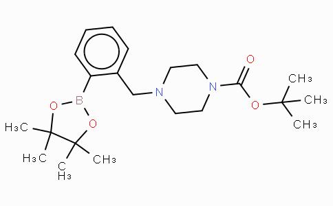 2-(4-Boc-piperazin-1yl)methylphenylboronic acid, pinacol