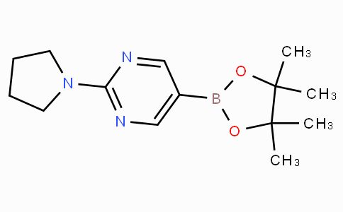 2-(Pyrrolidin-1-yl)pyrimidine-5-boronic acid pinacol ester