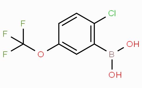 2-Chloro-5-(trifluoromethoxy)phenylboronic acid
