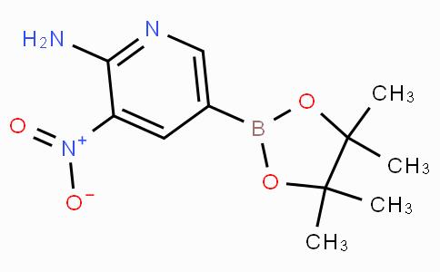 2-Amino-3-nitropyridine-5-boronic acid pinacol ester
