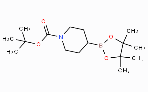 Tert-butyl 4-(4,4,5,5-tetramethyl-1,3,2-dioxaborolan-2-yl)piperidine-1-carboxylate