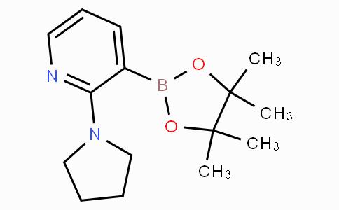 2-(Pyrrolidin-1-yl)pyridine-3-boronic acid pinacol ester