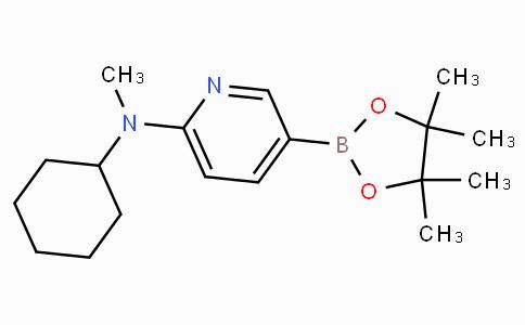 6-[Cyclohexyl(methyl)amino]pyridine-3-boronic acid pinacol ester